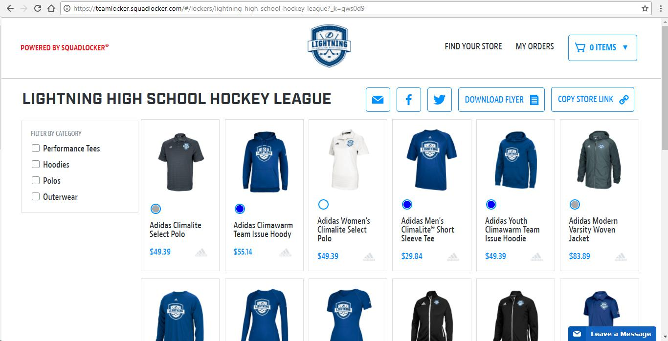 Lightning High School Hockey League