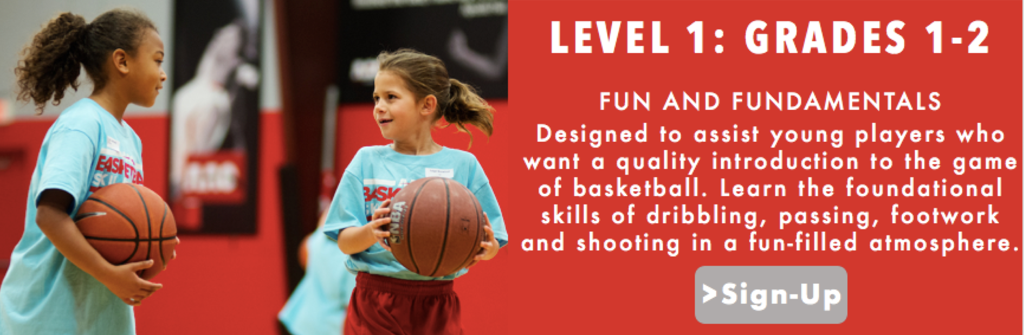 LEVEL 1 GRADES 1 AND 2 AAO ASST BASKETBALL