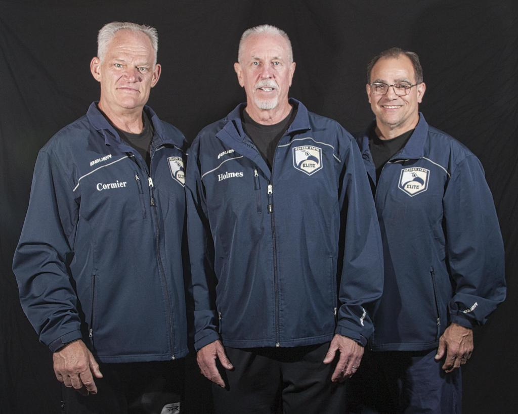 Coaches: Chip Cormier, Mike Holmes, and Vinny Heumann