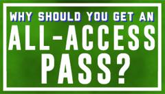 Northstar Football News All Access Pass