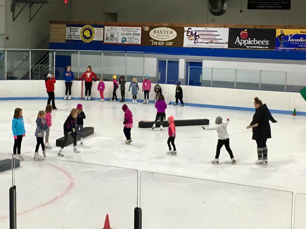 Brigade sports complex learn to skate