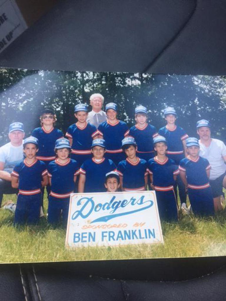 1987 Ben Franklin Dodgers