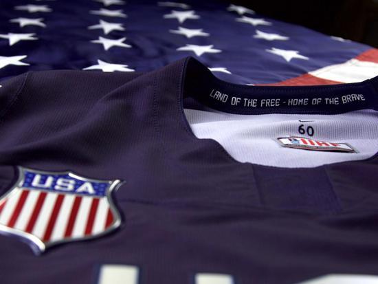 aa113b7b632 USA Hockey Unveils Nike 2018 Olympic Paralympic Jersey