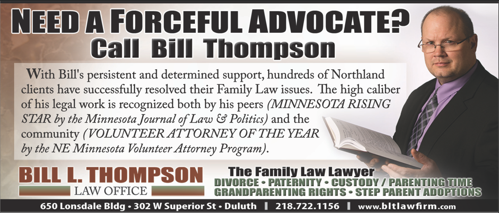 Bill L. Thompson Law Office Advertisement