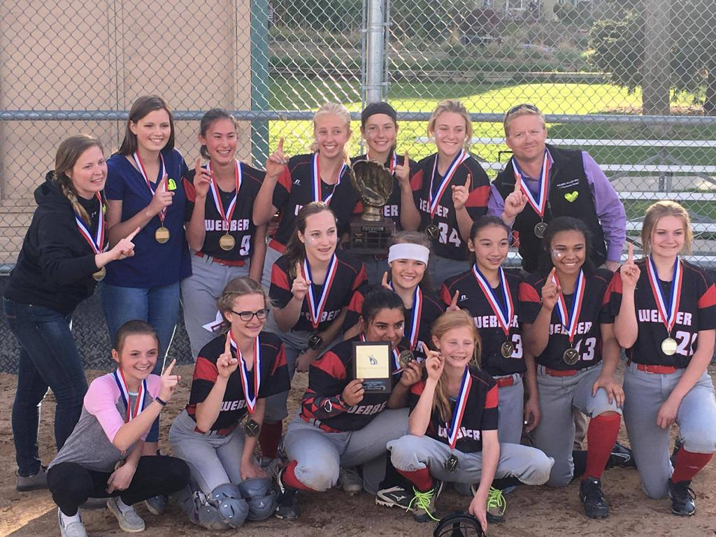 Softball Champions- Webber Middle School