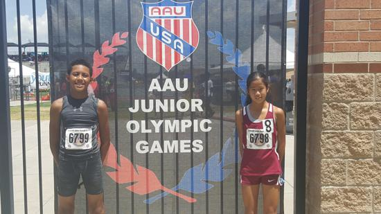 AAU Junior Olympics - Houston, TX