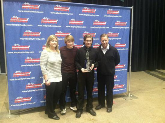 Josh Karels Of Cottage Grove Bantam A Wins 2016 Patrick Schoonover Award