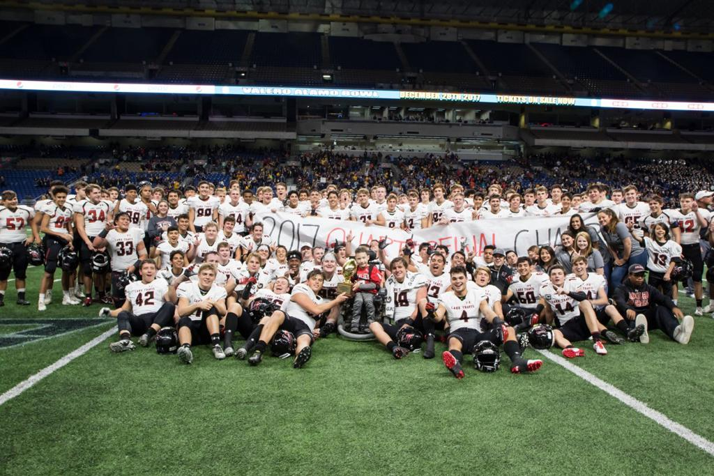 Lake Travis Football 2017 Quarterfinal Champions