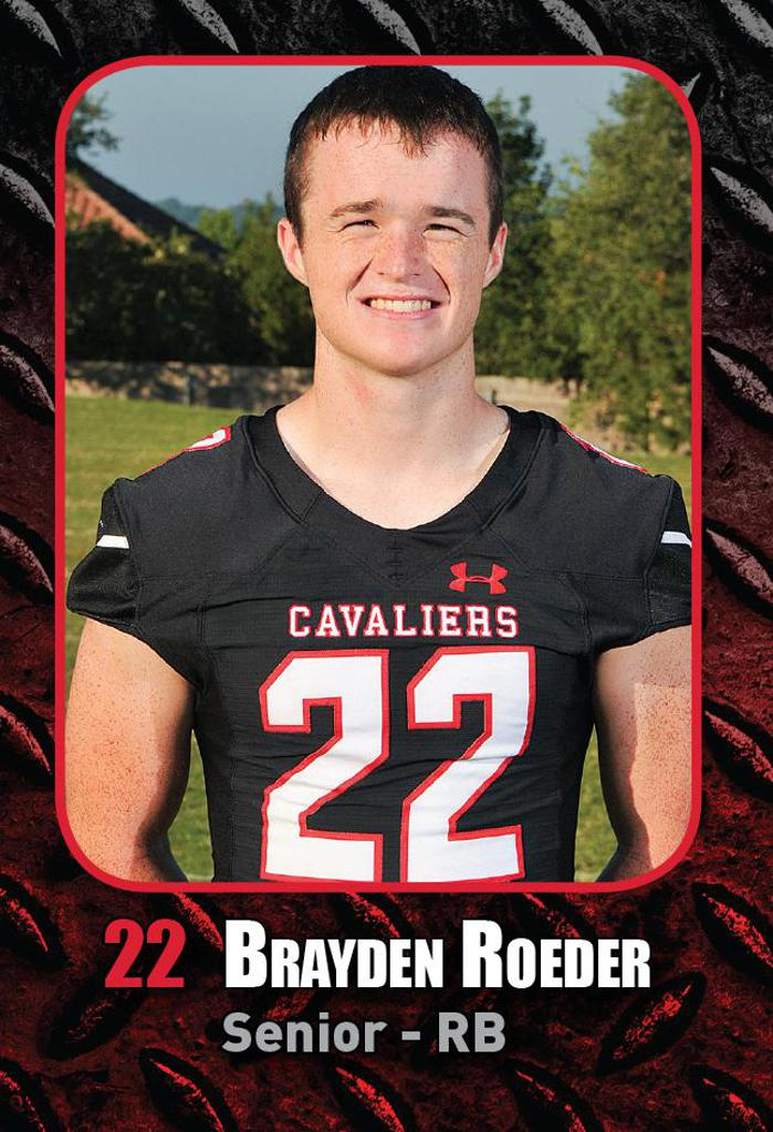 Playoff Game 4 vs O'Connor - Defensive Player of the Week BRAYDEN ROEDER