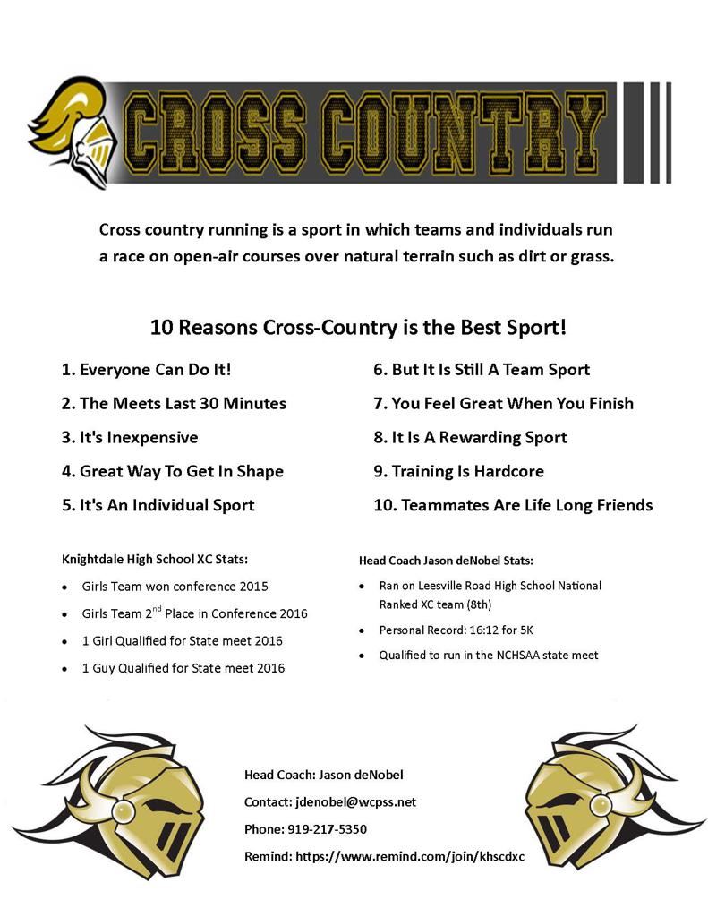 ten reasons why cross country is the best sport