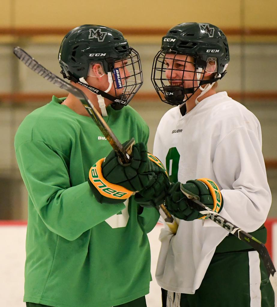 MN H.S.: Mounds View Senior Kept Playing Hockey After Liver Transplant