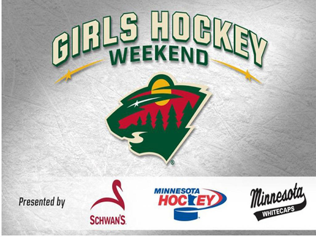 The Minnesota Wild Hosted 2nd Annual Girls Hockey Weekend On December 16 17 2017