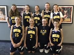 6th Grade Girls Go to Finals at MLK Tournament