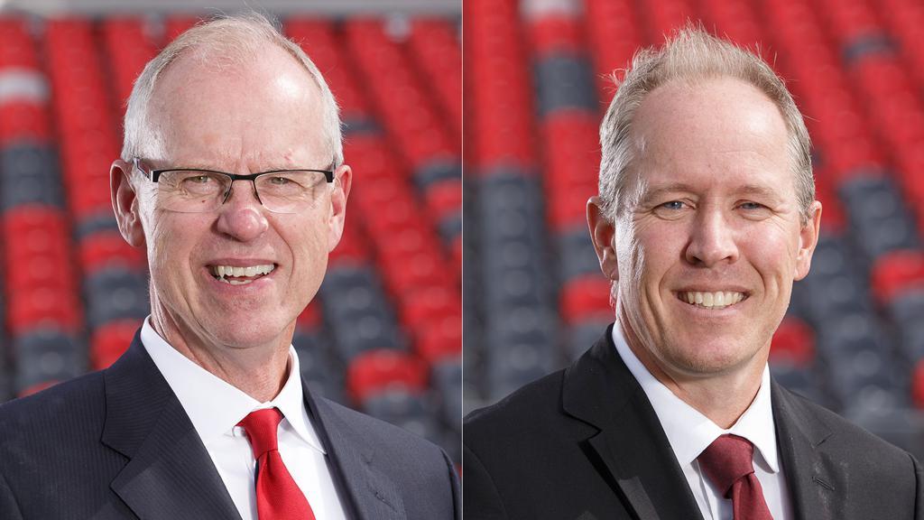 Image of Bernie Ashe and Mark Goudie