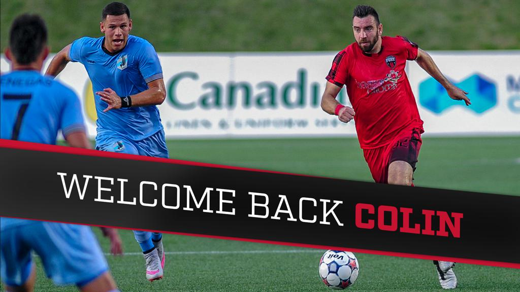 Fury FC re-signs Colin Falvey