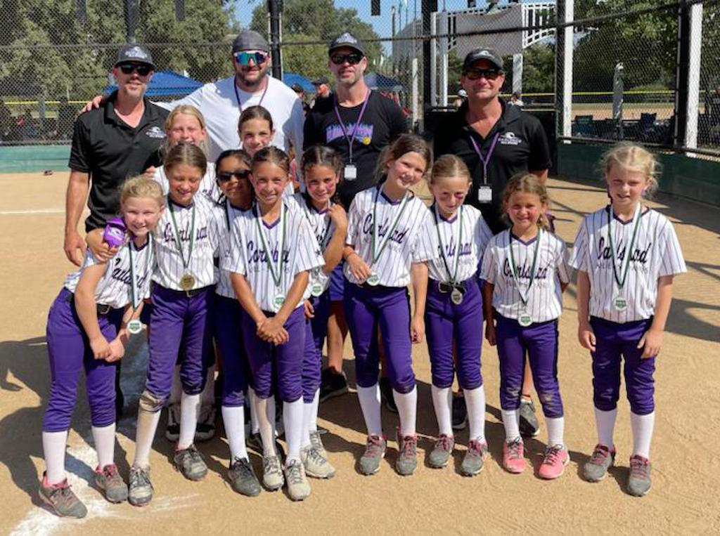 Congrats to Carlsbad 8U — 2nd Place Finish — 2021 Poway Emerald Classic Tournament