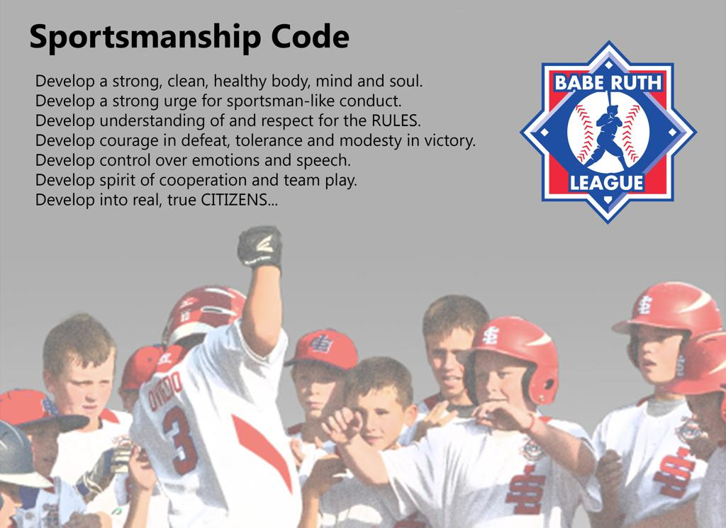 Babe Ruth Code of Sportsmanship