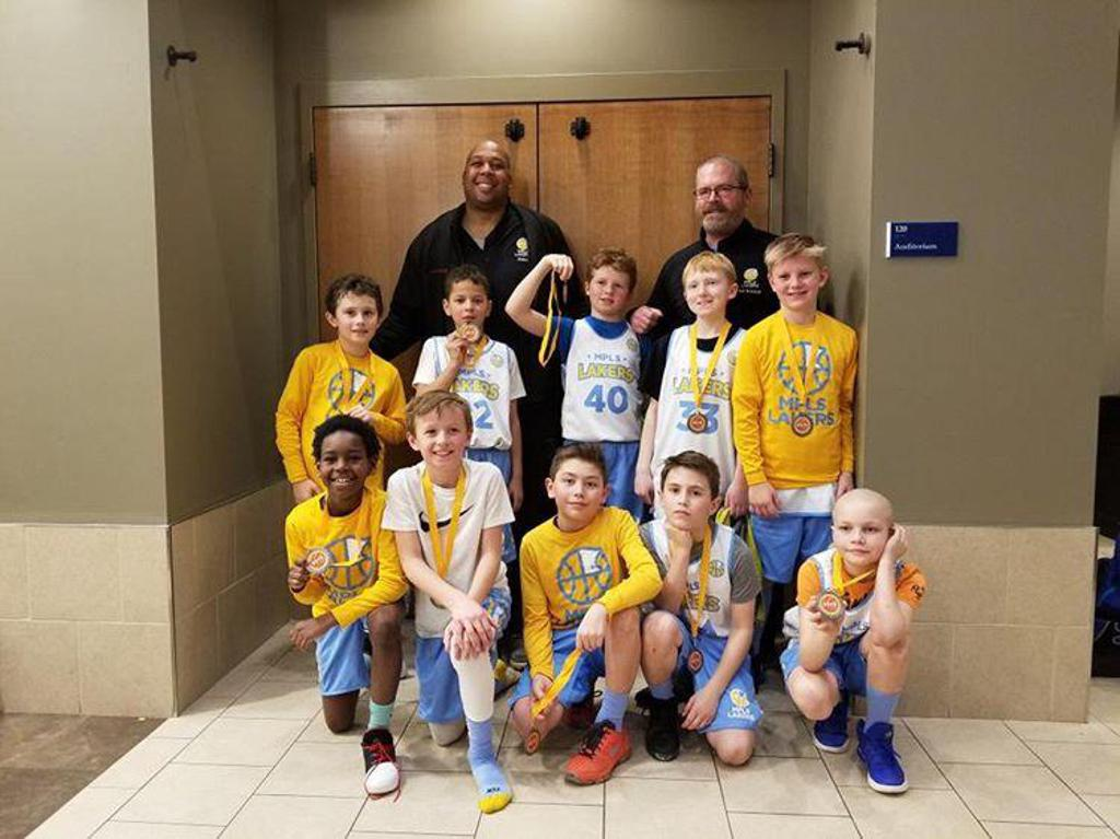 Boys 4th Grade Gold Team Take 2nd Place at Golden Bear Classic