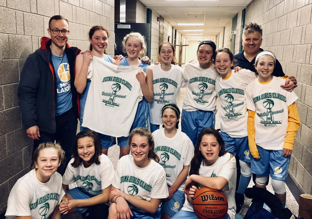 Girls 7th Grade Gold Take 5th Place at Edina Cake Eater Classic