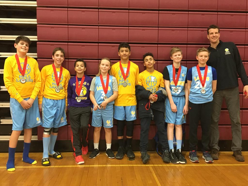 Boys 6th Grade Gold Take 2nd Place at Anoka Ramsey Tornado Shootout