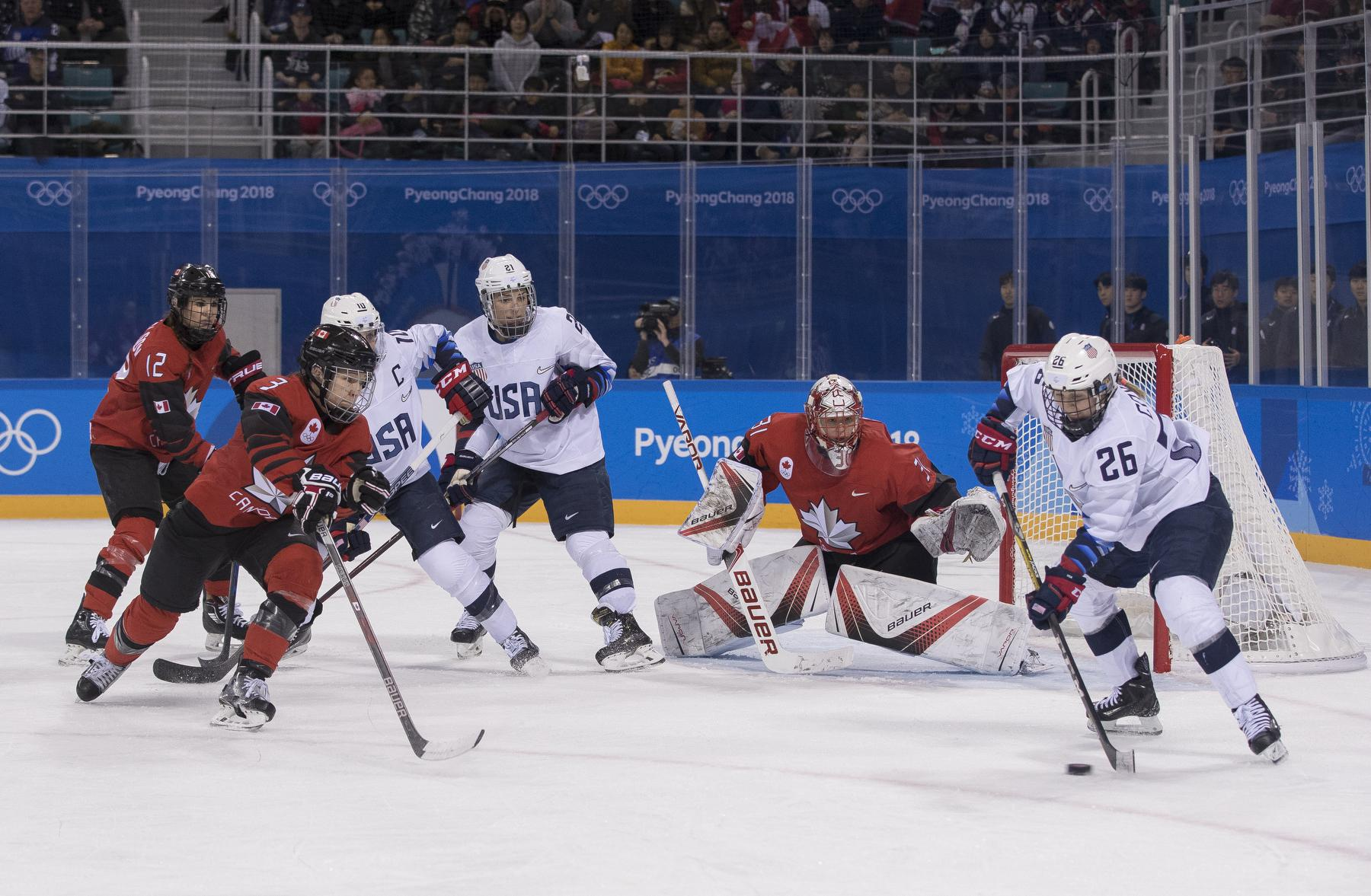 Bourque's offensive outburst leads Canada to 5-1 victory