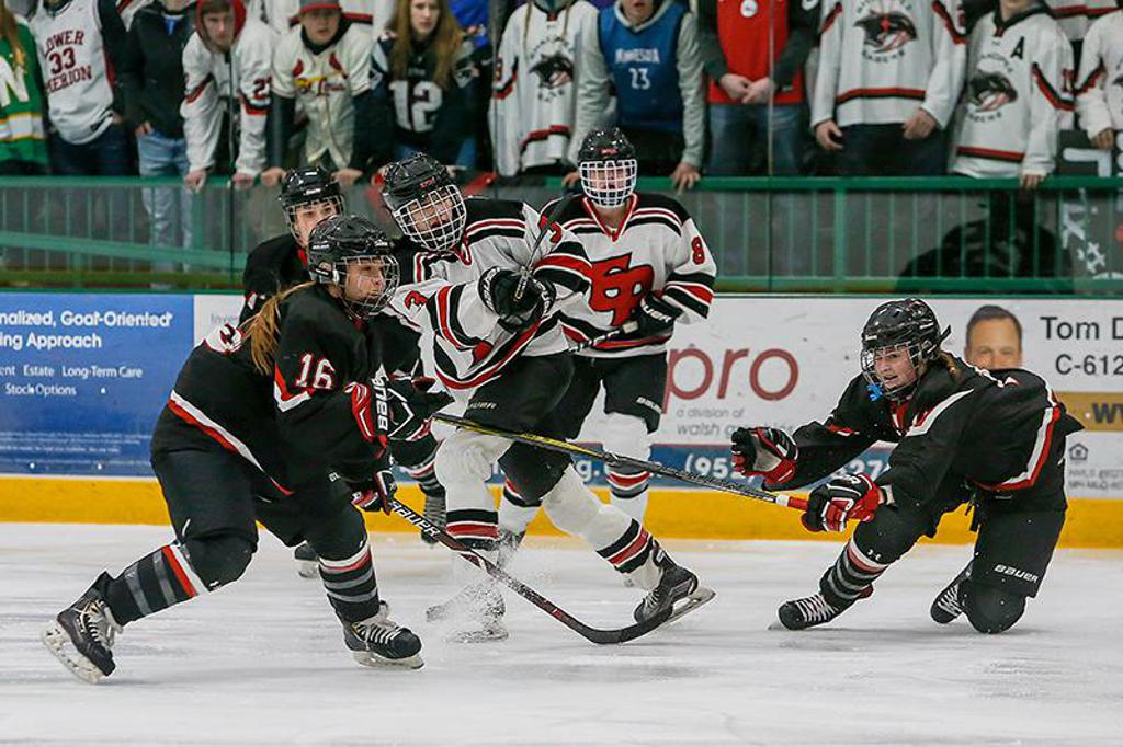 Hat trick for Eden Prairie's Langseth sends Eagles back to state