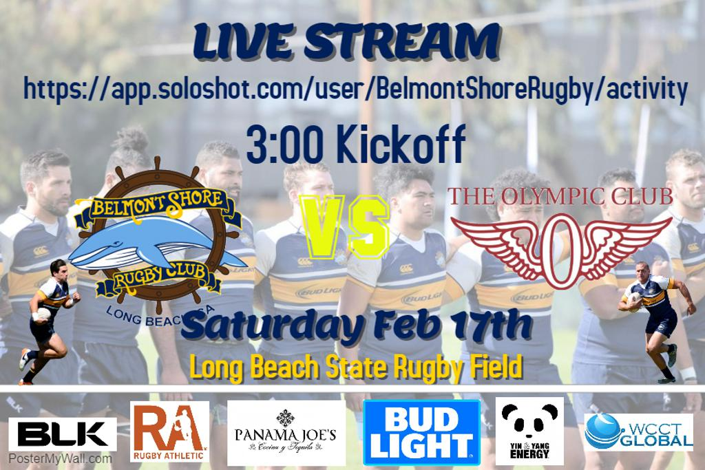 Live Stream of Olympic Club Game