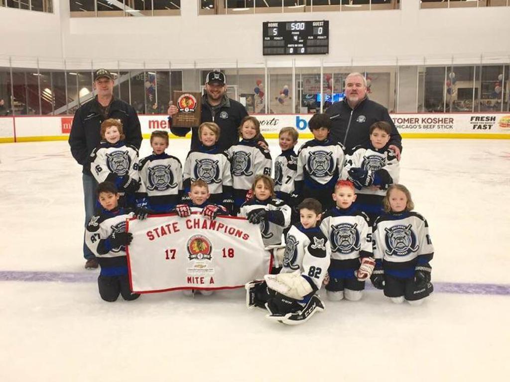 Bulldogs Mite 2010 team wins the 2018 Mite A State Championship!