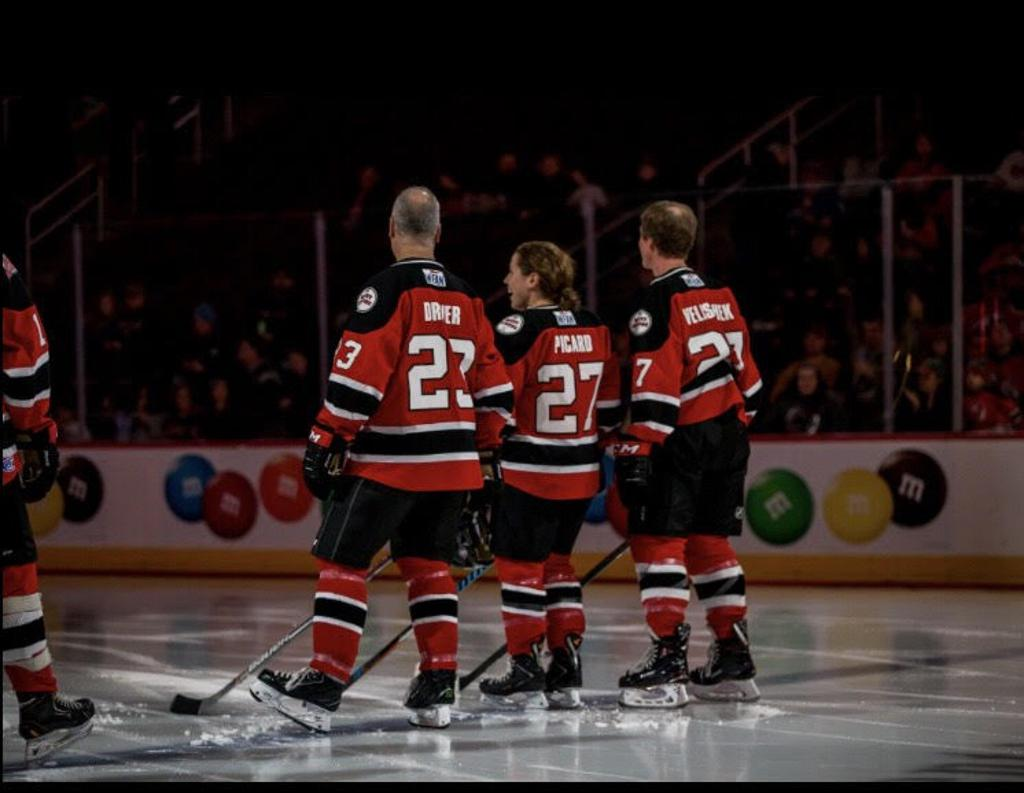 pretty nice 971ed c6164 Riveters' Picard Joins NHL Alumni and Celebrities at ...