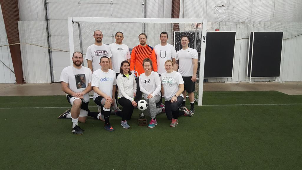 Adult Indoor League Session 2 Champions Photos Minot Soccer