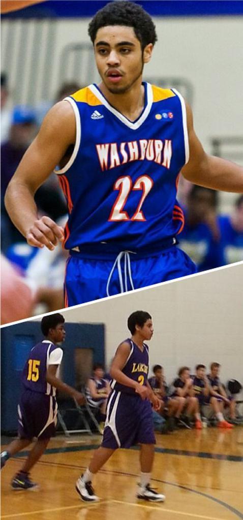 Damon Neubert Washburn High School Class of 2017  Mpls Lakers 2013-2014