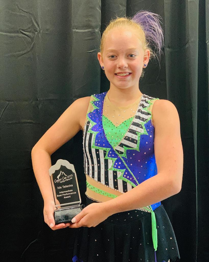 Big congratulations to Hannah Baldwin for winning the Ida Tateoka Intermediate Ladies Best Performance award at Copper Cup! We are proud of you!