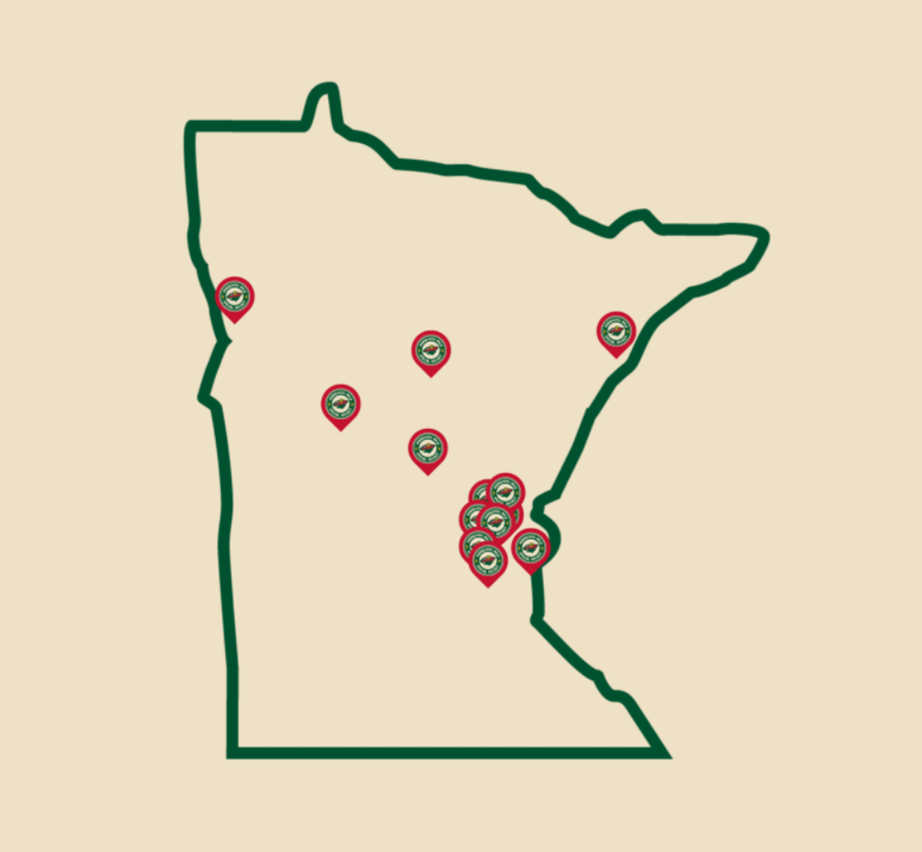 15 Teams across Minnesota