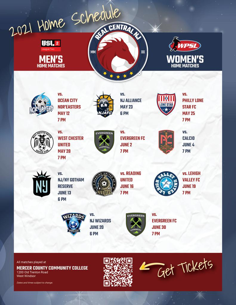 Combined home schedule