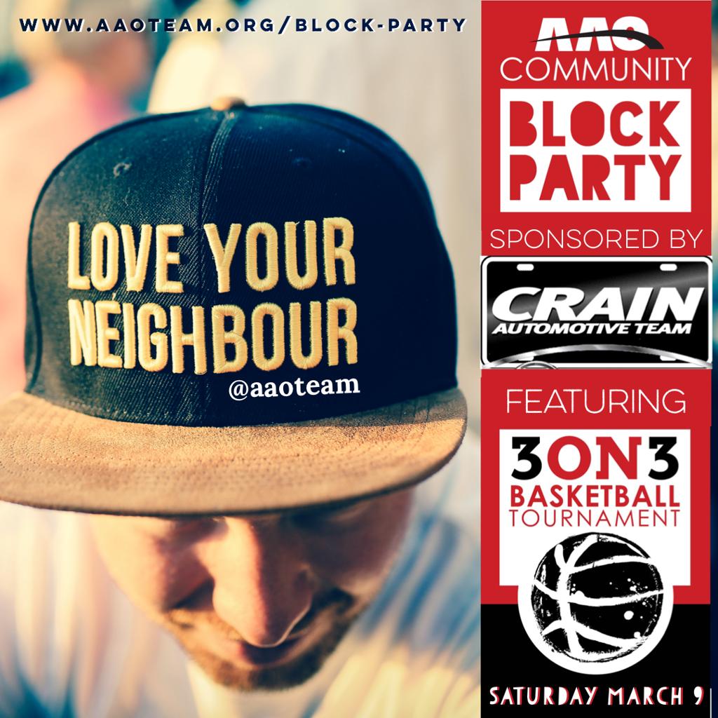 AAO Block Party 3 on 3