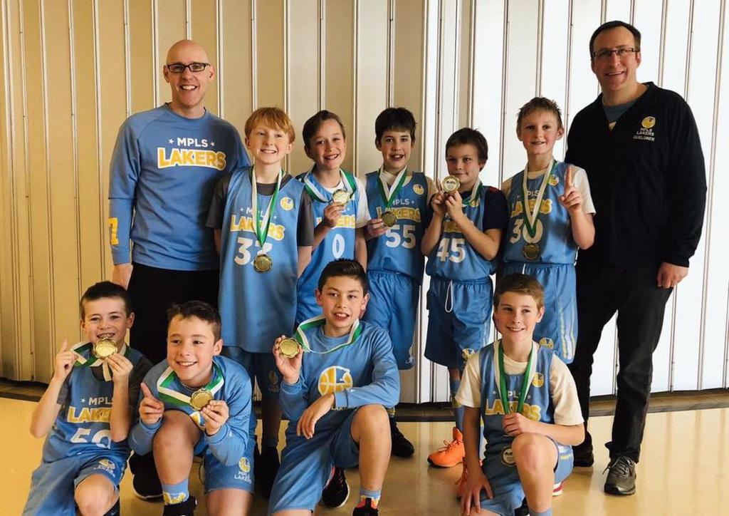 Boys 5th Grade Blue take 1st Place at Rockford Showcase. Way to go Champs! #MplsLakers #MplsLakersBasketball