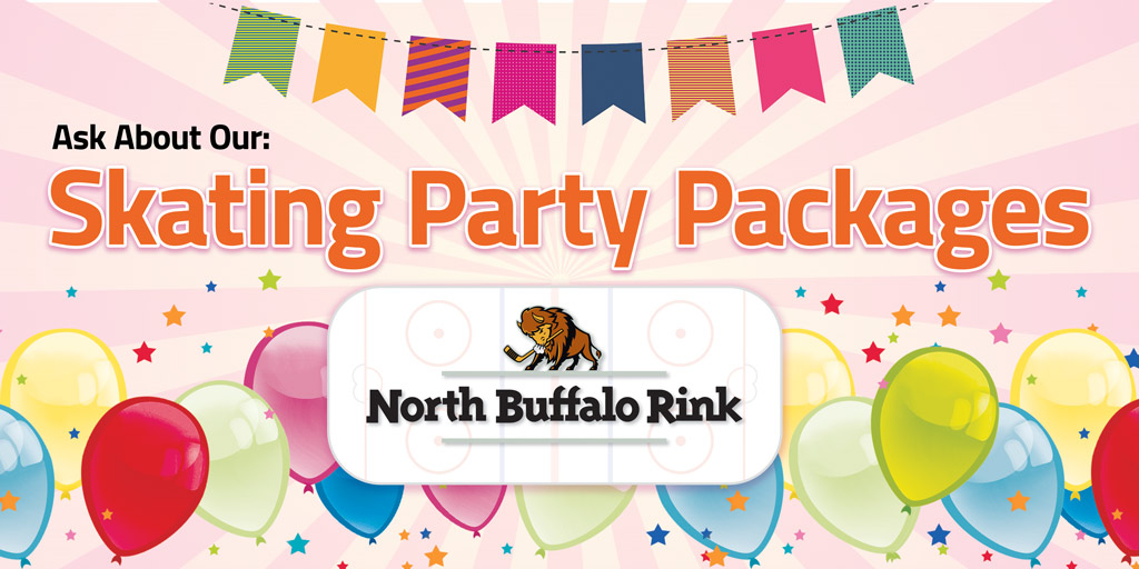 Book your party at North Buffalo Rink.