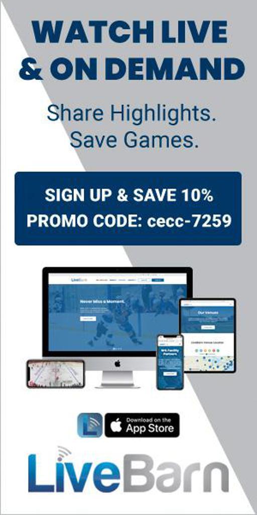 LiveBarn use promo code cecc-7259