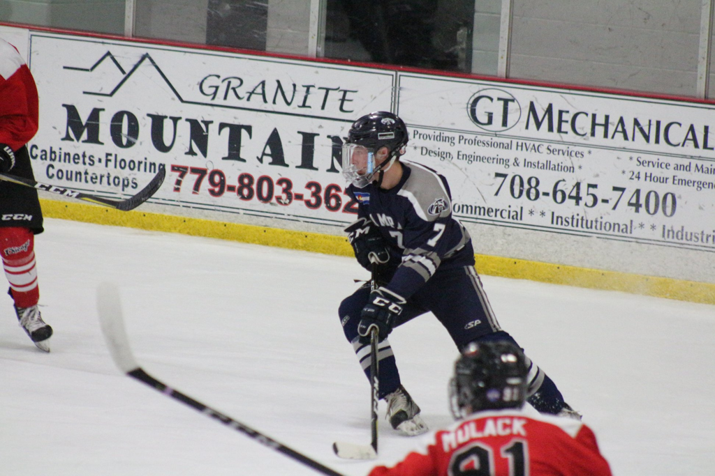 Jasper Lester Air Force Falcons Hockey