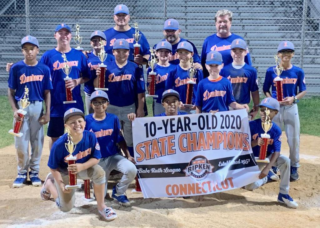 Congratulations to Danbury's 10U Team - 2020 CT State Champions