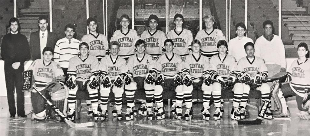 CCVHC Varsity Team, 1986-87