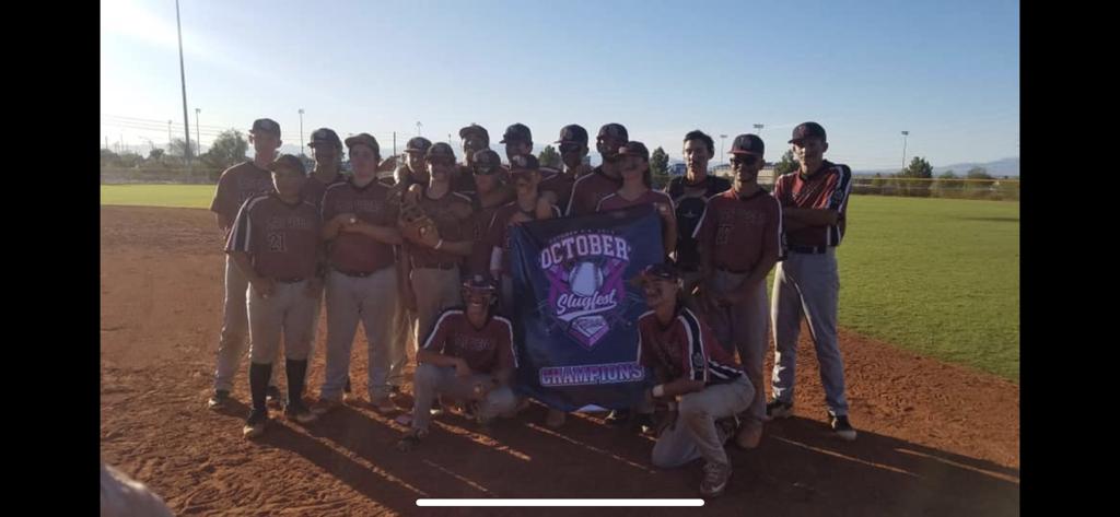 Congrats to our 16U team! October Slugfest Champions !