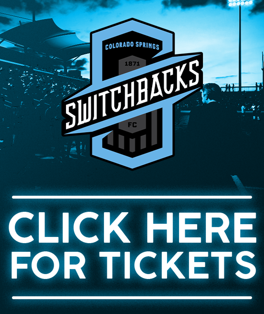 Click Here to buy Switchbacks FC Tickets Now