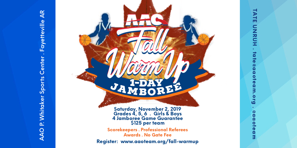 Fall Warm Up Basketball Jamboree November 2