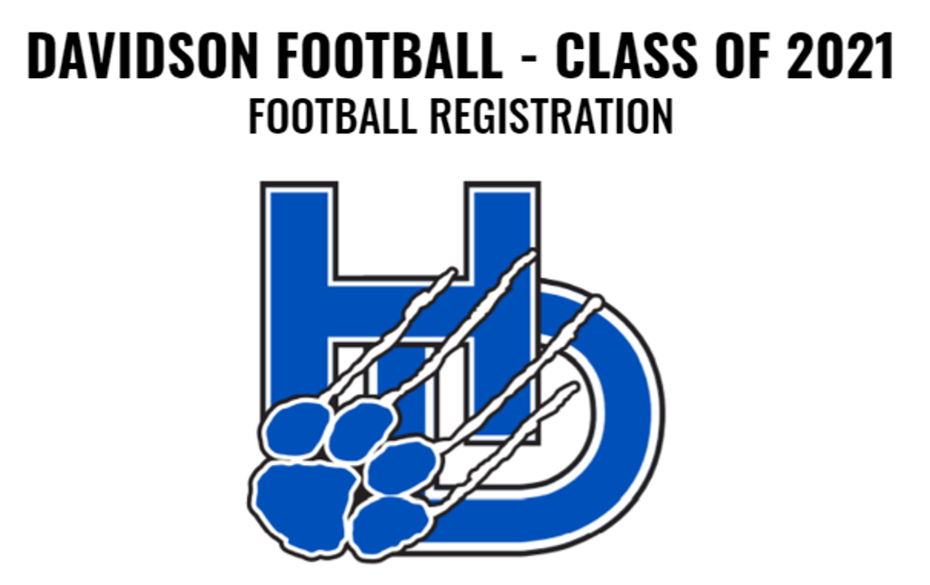 Football Registration: Class of 2021
