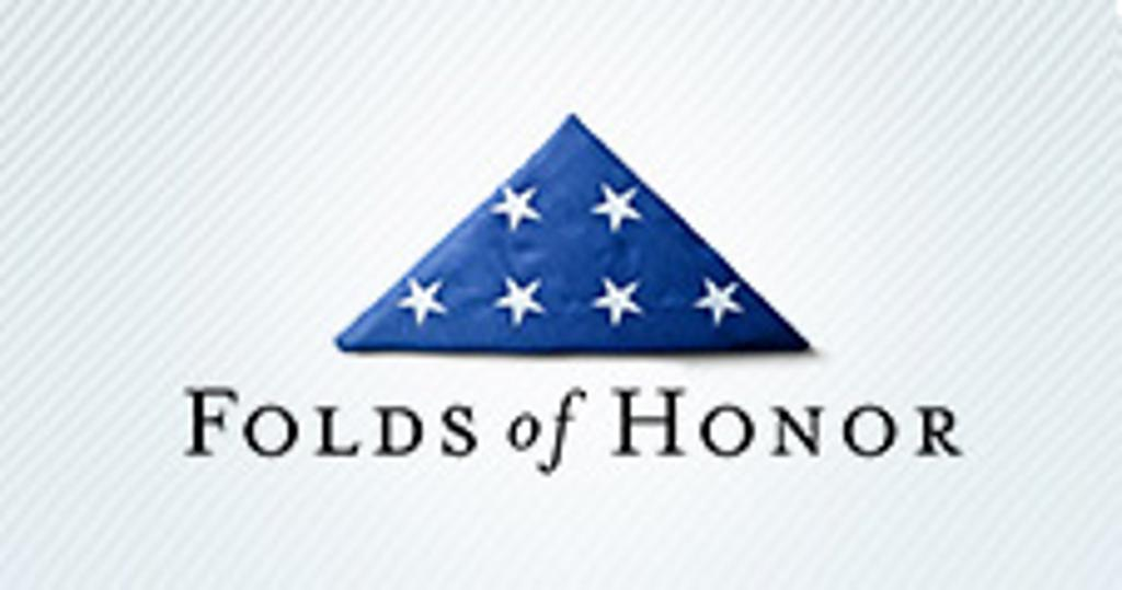 A Proud Supporter of Folds Of Honor