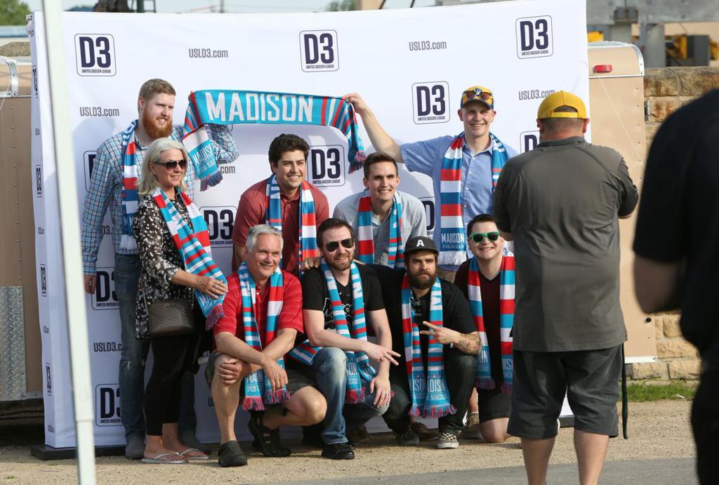 Madison Pro Soccer Fans