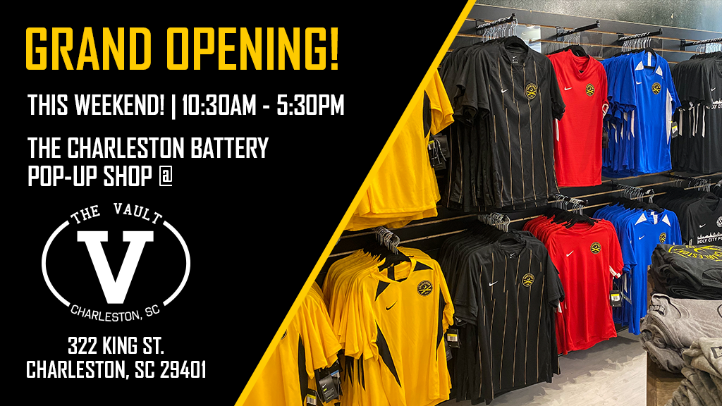 Battery launch pop up shop on king street