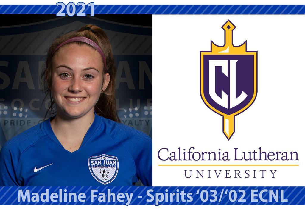 Madeline Fahey