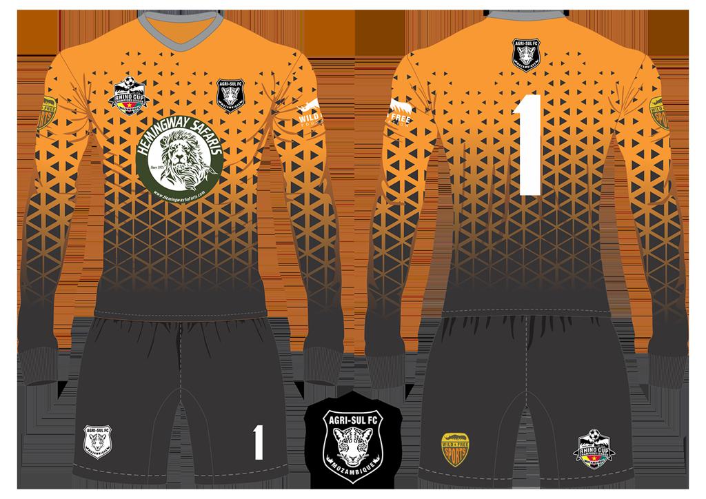 Agri-Sul FC Leopards Goalkeeper Kit RCCL 2019